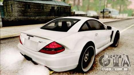 Mercedes-Benz SL65 AMG BS 2009 para GTA San Andreas esquerda vista
