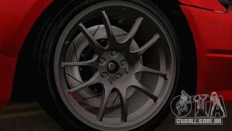 Nissan Silvia S14.5 para GTA San Andreas traseira esquerda vista