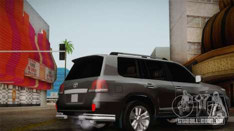 Toyota Land Cruiser 200 para as rodas de GTA San Andreas