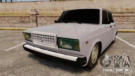 UTILIZANDO-Lada 2107 para GTA 4