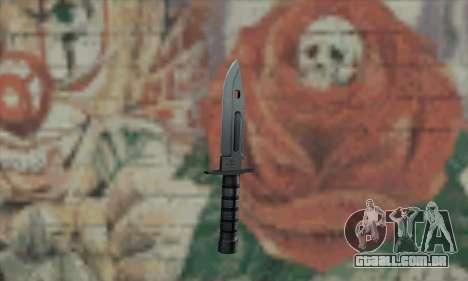 M9 Knife para GTA San Andreas