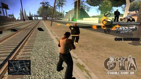 C-HUD Russian Mafia by Luigie para GTA San Andreas terceira tela