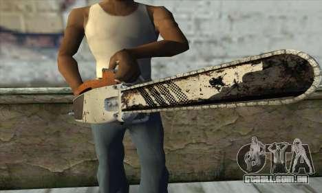 Motosserra a partir de L4D2 para GTA San Andreas terceira tela