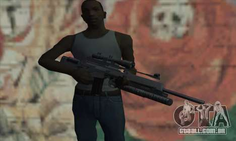 SG550 para GTA San Andreas terceira tela