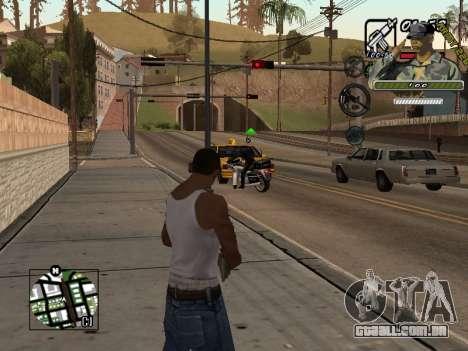 C-Hud Army by Enrique Rueda para GTA San Andreas segunda tela