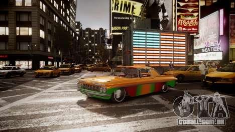 Chevrolet Impala para GTA 4 traseira esquerda vista