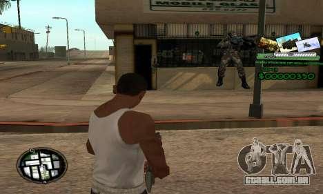 C-HUD Army Troops para GTA San Andreas
