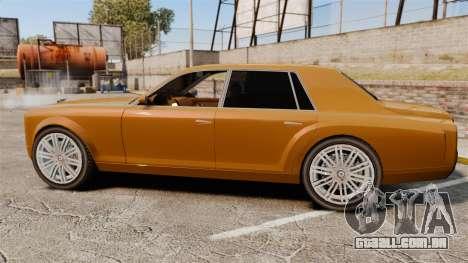Super Diamond VIP para GTA 4 esquerda vista