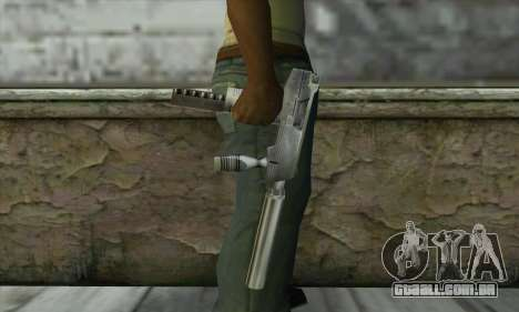 SMG из Counter Strike para GTA San Andreas terceira tela