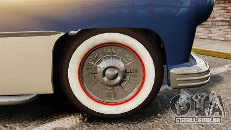 Mercury Lead Sled Custom 1949 para GTA 4 vista de volta