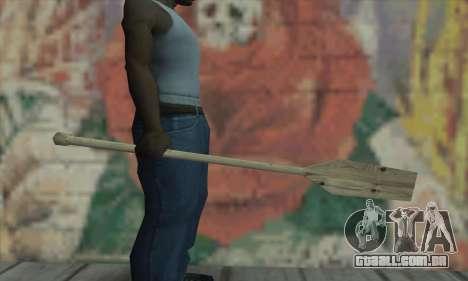 The wooden paddle para GTA San Andreas segunda tela