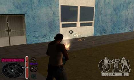 C-HUD by Andy Cardozo para GTA San Andreas terceira tela