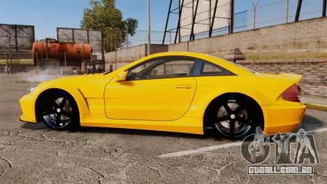 Mercedes-Benz SL65 AMG para GTA 4 esquerda vista