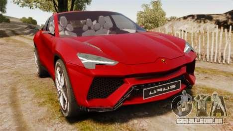 Lamborghini Urus LP840 2015 para GTA 4