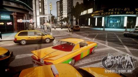Chevrolet Impala para GTA 4 vista direita