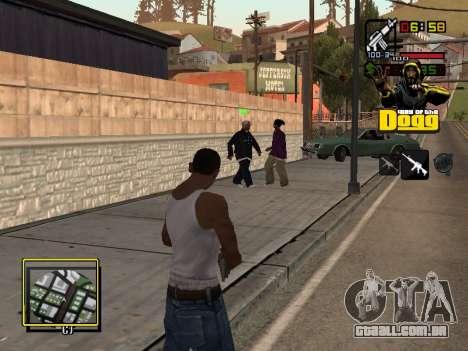C-HUD Snoop Dogg para GTA San Andreas terceira tela