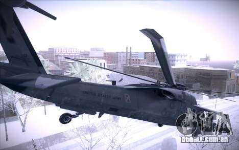 MH-X Silenthawk para GTA San Andreas vista interior