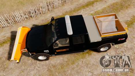 Ford F-250 Super Duty ESSL [ELS] para GTA 4 vista direita