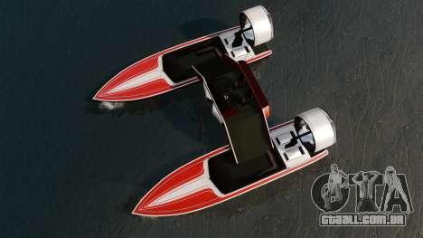 Catamarã-Jetmax Aero- para GTA 4 vista direita