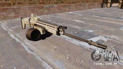 Espingarda automática FN SCAR-H LMG para GTA 4
