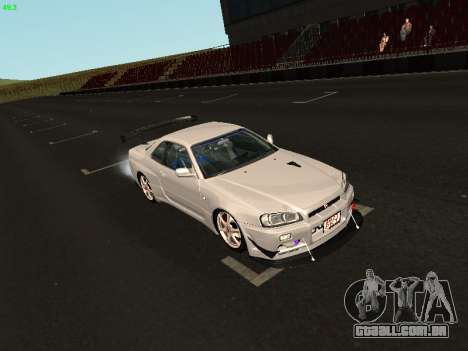 Nissan Skyline BNR34 para GTA San Andreas