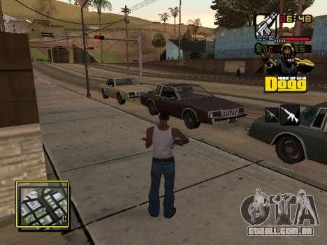 C-HUD Snoop Dogg para GTA San Andreas segunda tela