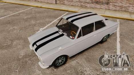 Lotus Cortina 1963 para GTA 4 vista inferior