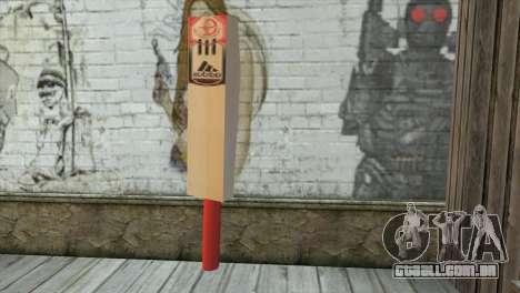 Adidas Cricket Bat para GTA San Andreas segunda tela