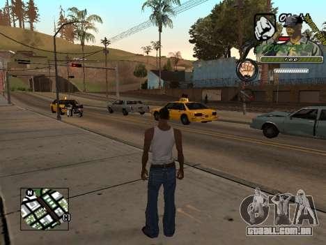 C-Hud Army by Enrique Rueda para GTA San Andreas