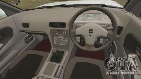 Nissan Onevia S13 [EPM] para GTA 4 vista lateral