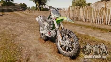 Kawasaki KX250F Monster Energy para GTA 4