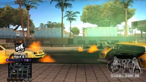 C-HUD Maket para GTA San Andreas terceira tela