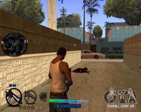 C-HUD by Vadya para GTA San Andreas terceira tela