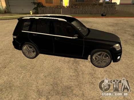 Mercedes-Benz GLK para GTA San Andreas esquerda vista