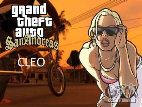 A CLEO biblioteca para o Android a partir 04.01. para GTA San Andreas Mobile