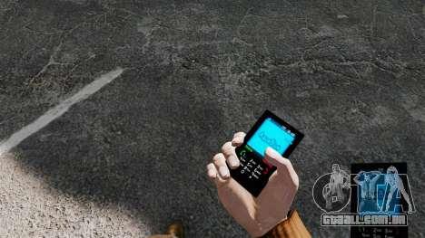 O Aqua Blue theme para o seu telefone para GTA 4