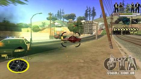 C-HUD Municipality para GTA San Andreas terceira tela