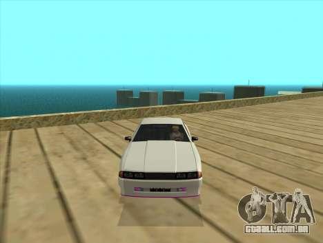 Elegy by MegaPixel para GTA San Andreas esquerda vista
