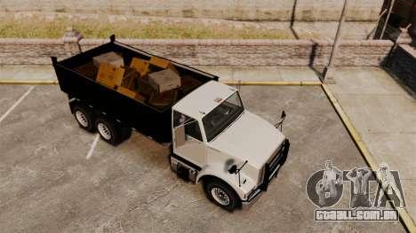 Benson Heavy para GTA 4 vista interior