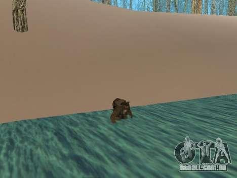 Mochila 2.0 para GTA San Andreas terceira tela