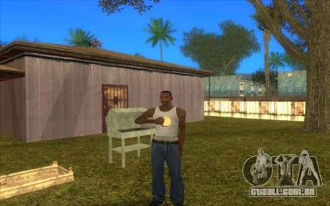 Barbecue para GTA San Andreas terceira tela
