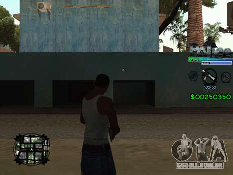 C-HUD by Powwer para GTA San Andreas segunda tela