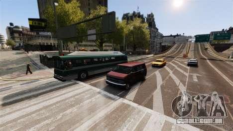 O tráfego real para GTA 4 terceira tela