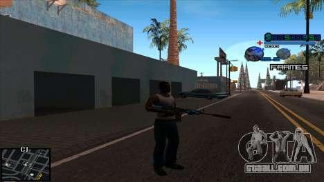 C-Hud Niko para GTA San Andreas