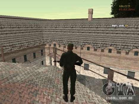 O exército russo moderno para GTA San Andreas décima primeira imagem de tela
