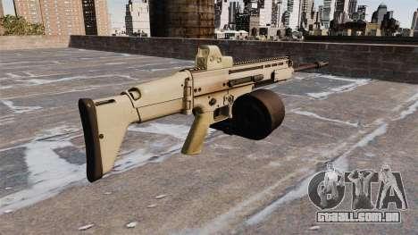 Espingarda automática FN SCAR-H LMG para GTA 4 segundo screenshot