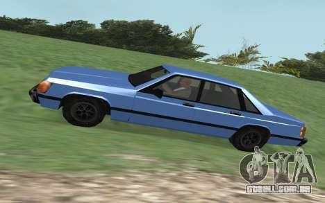 Premier VC para GTA San Andreas esquerda vista