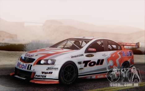 Holden Commodore para GTA San Andreas esquerda vista