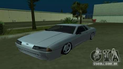 Elegy 280sx para GTA San Andreas vista traseira
