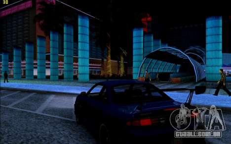 ENB HD CUDA 2014 v1.0 para GTA San Andreas quinto tela